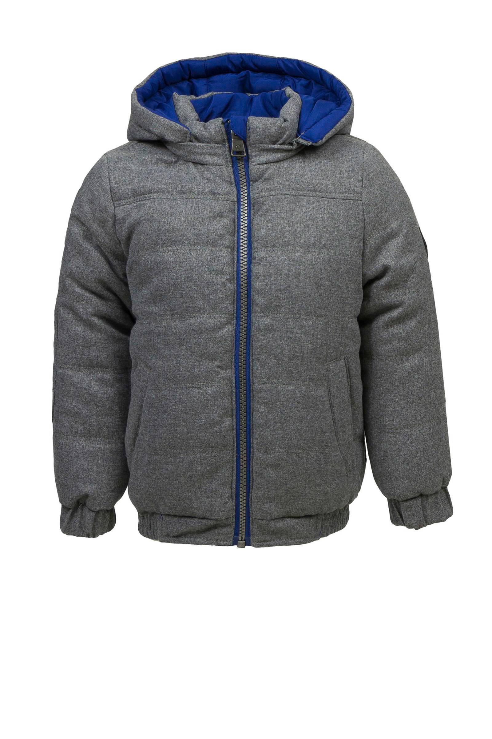 Marc O'Polo omkeerbare winterjas grijs (jongens)