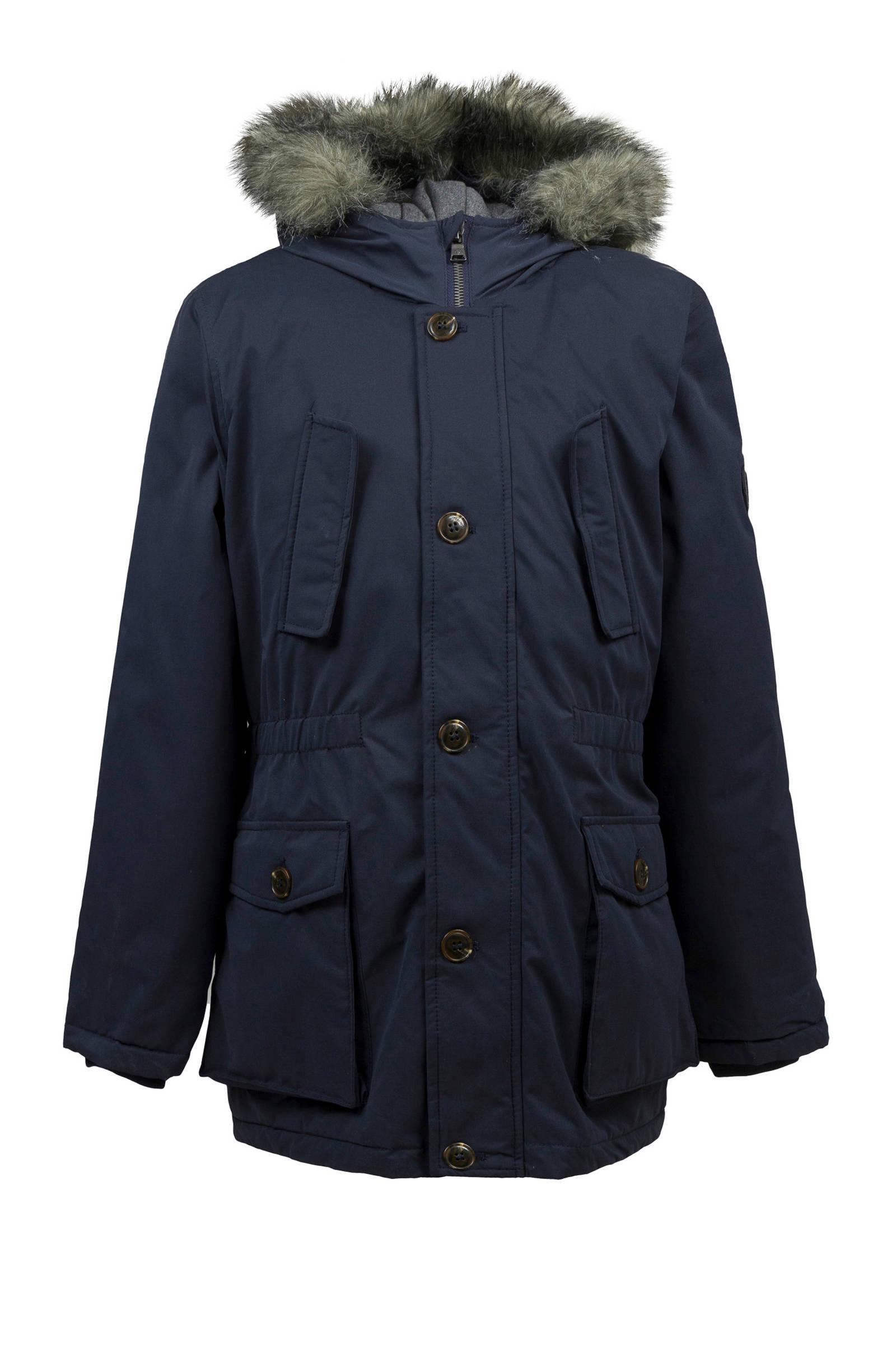 warme trendy winterjas