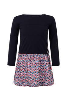 jurk met gebloemde rok