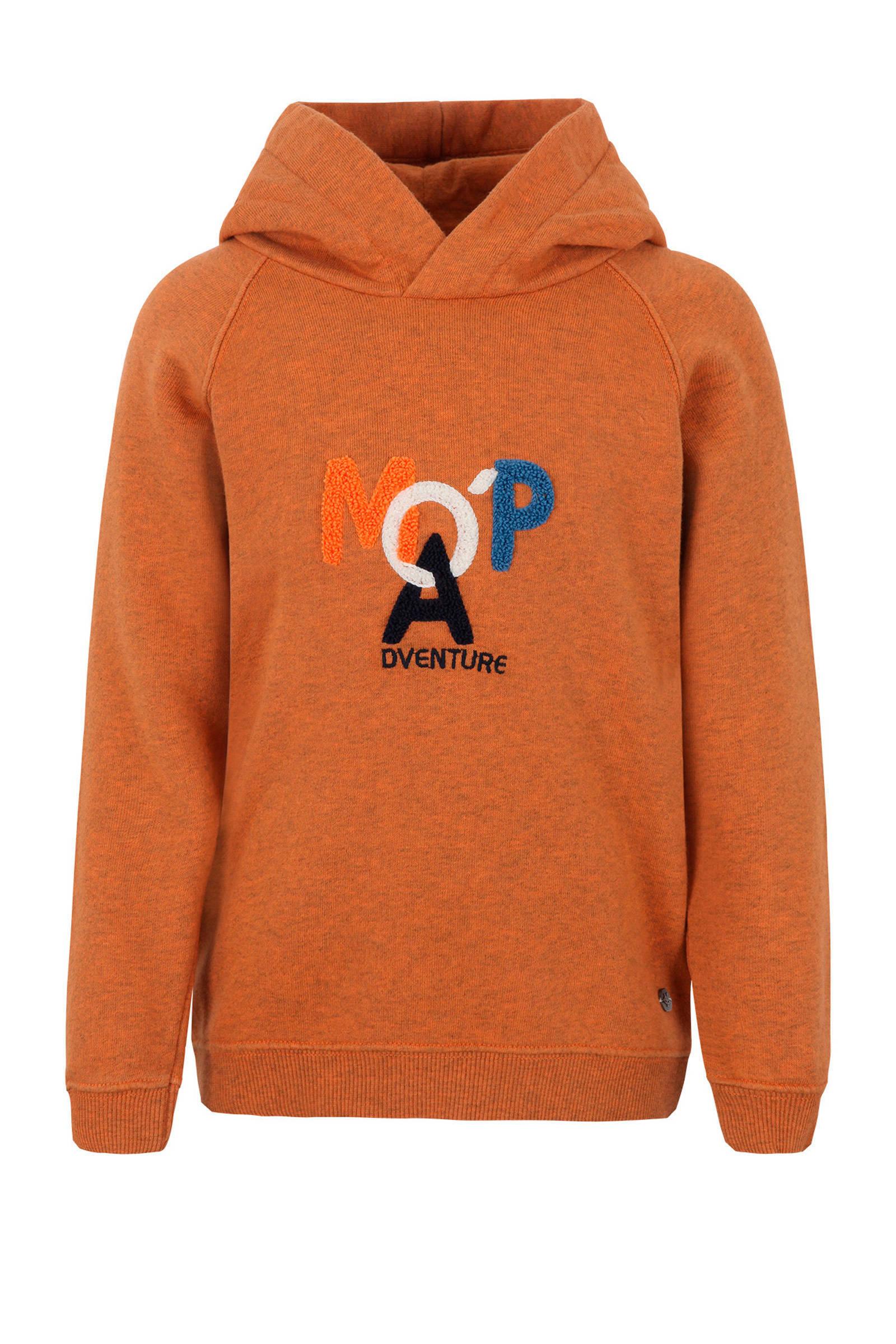 Marc O'Polo hoodie oranje (jongens)
