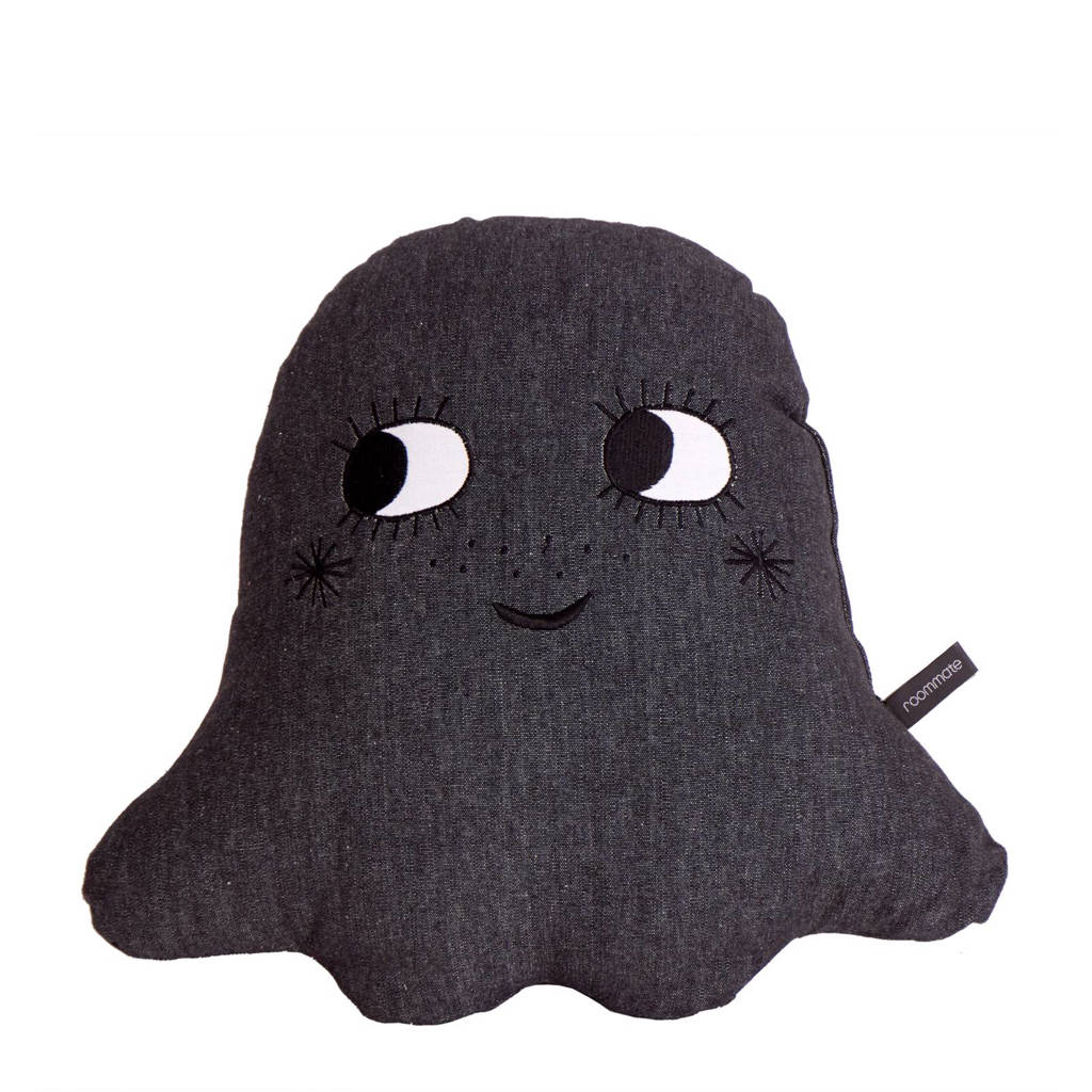 Roommate sierkussen Ghost (45x43 cm), Antraciet