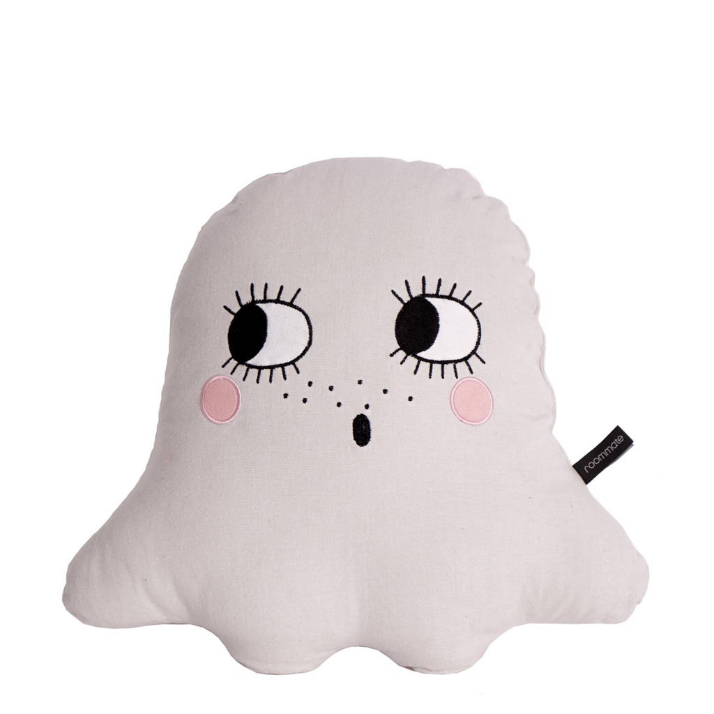 Roommate sierkussen Ghost  (45x43 cm), Off-White