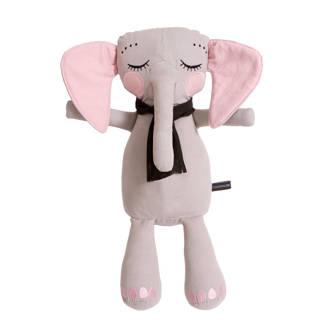Elephantpop grijs knuffel 50 cm