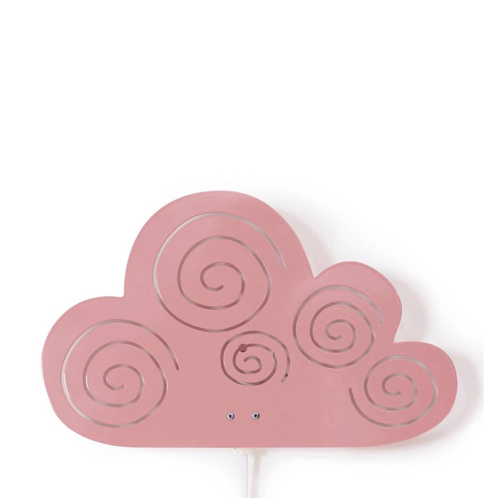 Roommate Cloud wandlamp roze, Roze