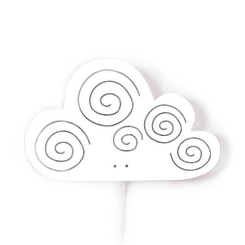 Roommate Cloud Wandlamp 20,5 cm Wit