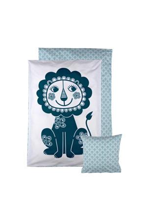 Soulmate Lion baby dekbedovertrek 70x100 cm
