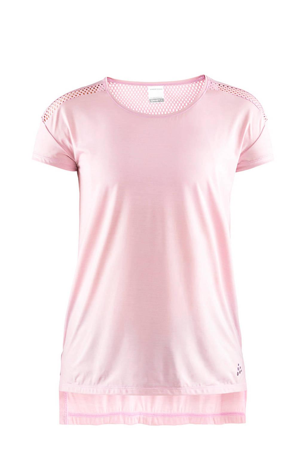 Craft sport T-shirt roze, Roze