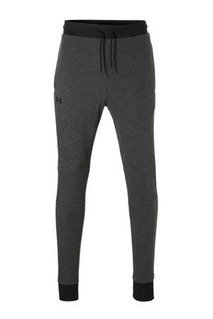 regular fit joggingbroek antraciet/zwart