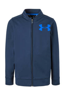Under Armour    sportvest donkerblauw (jongens)