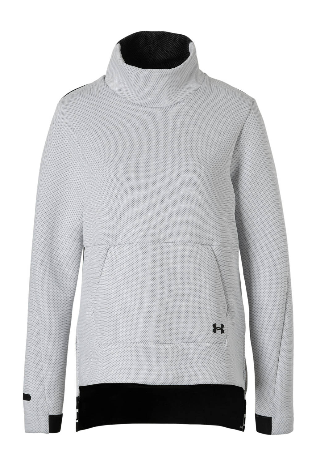 Under Armour sportsweater wit, Wit/zwart