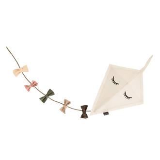 Kite ceiling textiel hanglamp off white