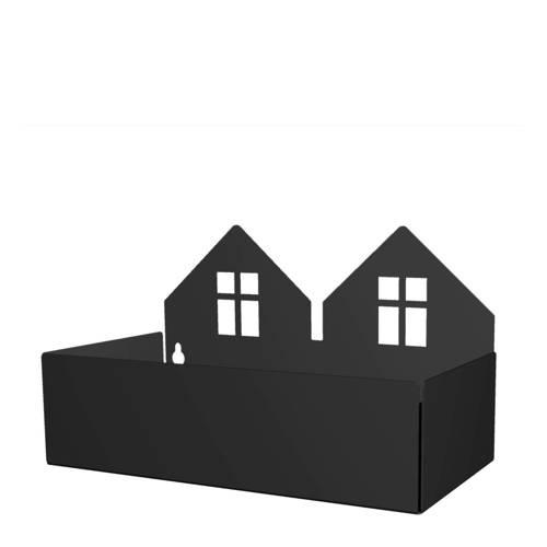 Roommate Twin house opbergbak zwart kopen