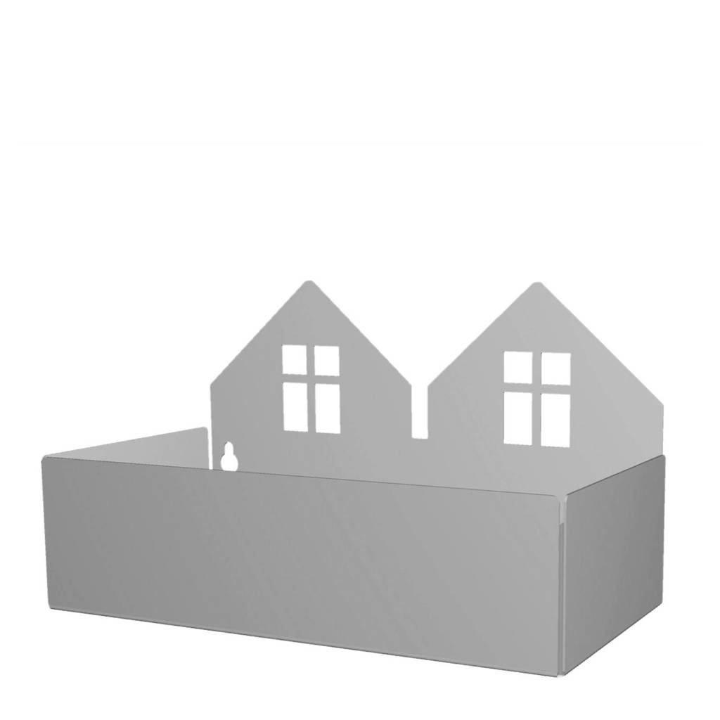 Roommate Twin house opbergbak grijs, Grijs