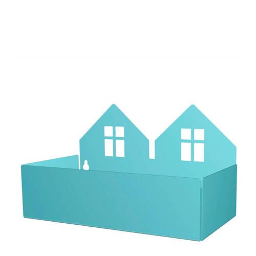 Roommate Twin house opbergbak pastel blauw kopen