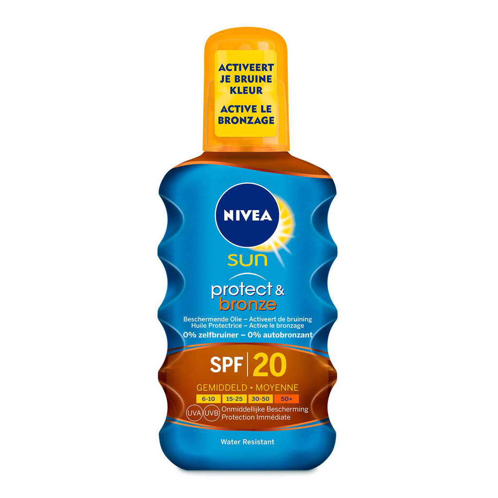 NIVEA SUN Protect & Bronze Beschermende Olie SPF20
