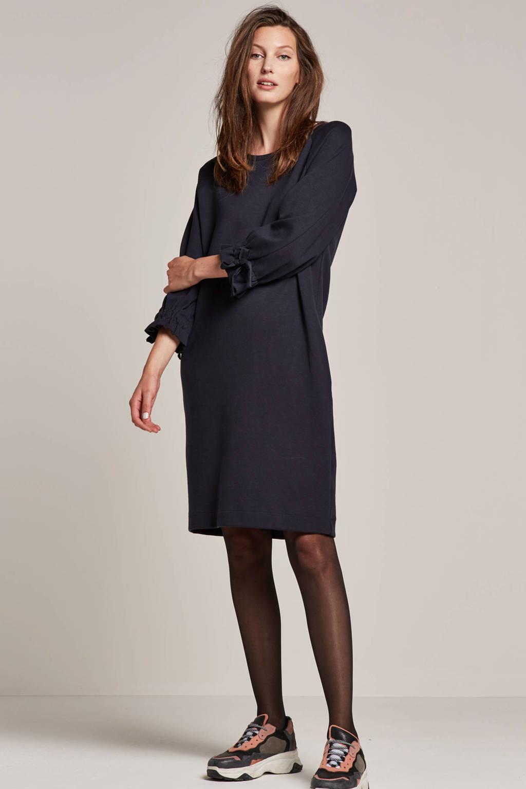 Summum Woman Interlock jurk, Blauw