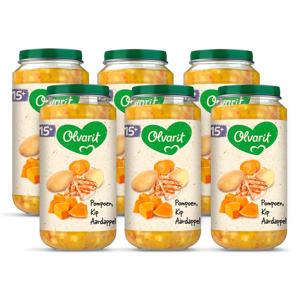 babyvoeding pompoen kip aardappel 15+ mnd (6 x 250 gram)
