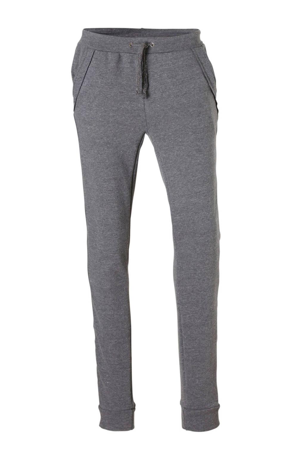 Papillon joggingbroek grijs, grijs melange/zwart/goud/zilver