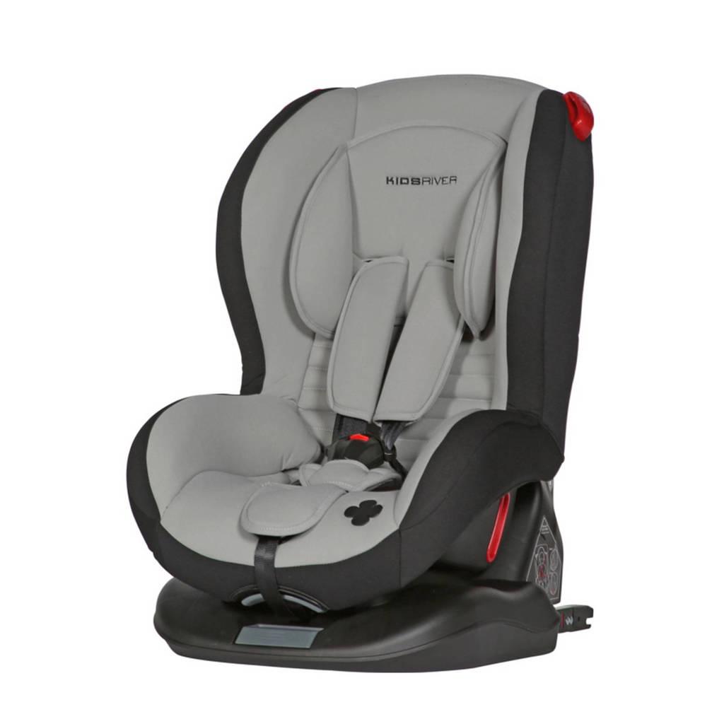 Kidsriver Evi Isofix autostoel groep 1/2 grijs, Grijs