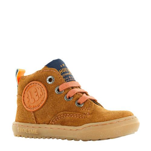 Shoesme su??de sneakers cognac