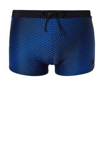 Endurance 10 zwemboxer all over print blauw