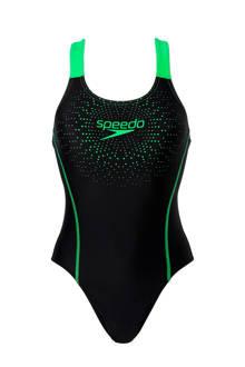 Endurance 10 sportbadpak zwart/groen