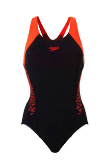 Endurance+ sportbadpak zwart/rood