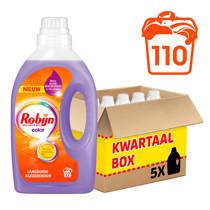 Robijn wasmiddel kleur - 110 wasbeurten - vloeibaar