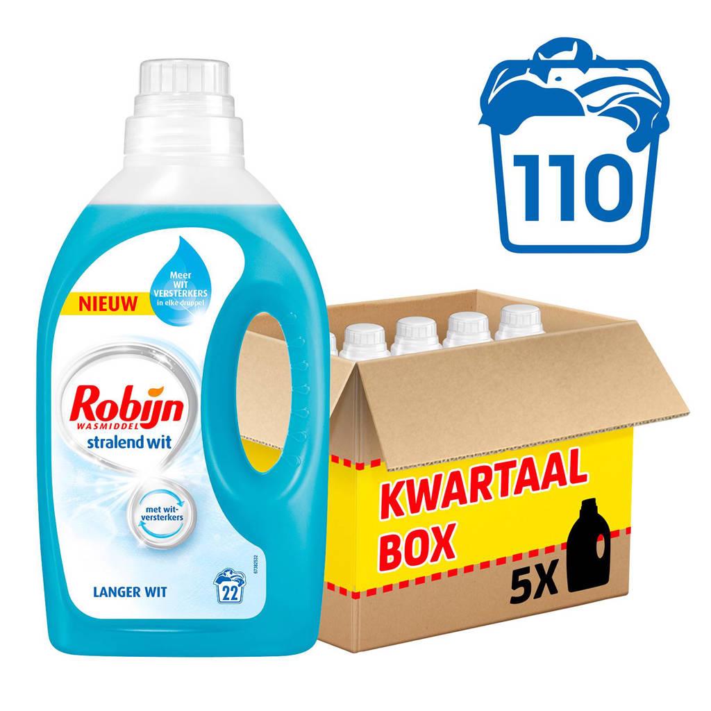 Robijn Stralend Wit wasmiddel - 110 wasbeurten - vloeibaar