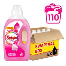 Robijn Pink Sensation wasmiddel kleur - 110 wasbeurten - vloeibaar
