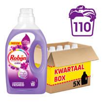 Robijn Purple Sentation vloeibaar kleur wasmiddel 5x22 wasbeurten