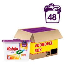 Robijn wasmiddel kleur - 48 wasbeurten - duo wascapsules