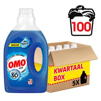 wasmiddel wit - 100 wasbeurten - vloeibaar