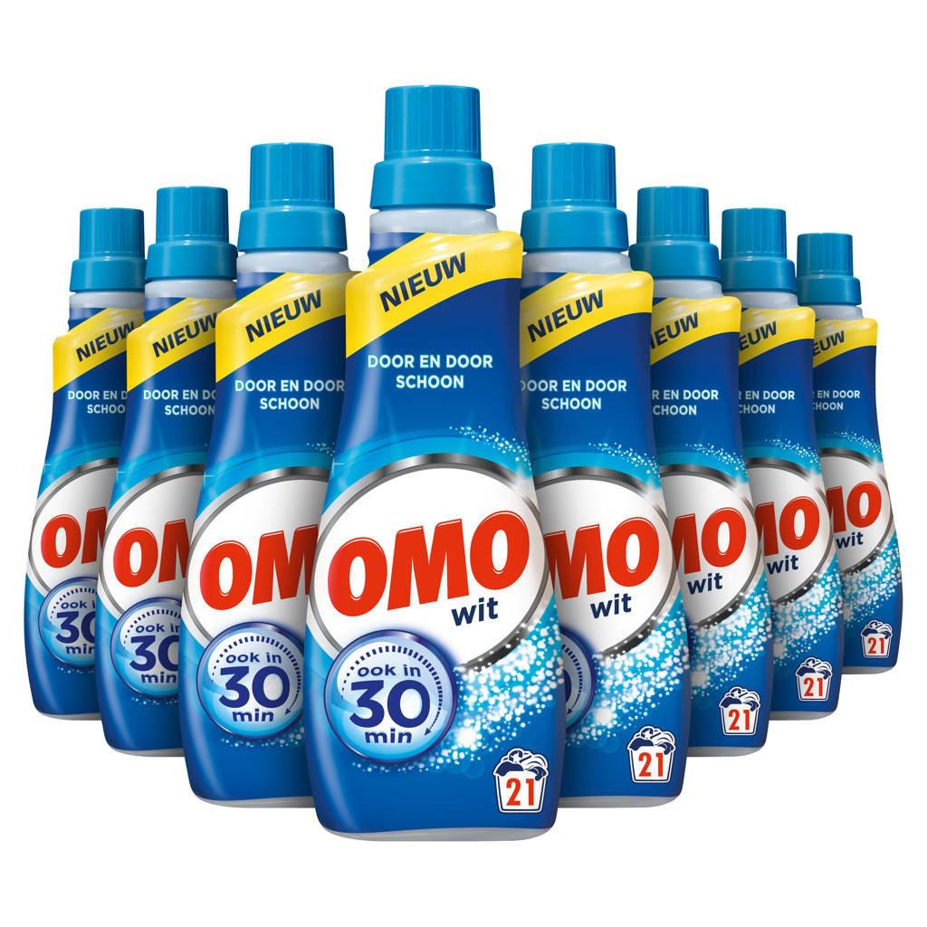 Omo Klein & Krachtig wasmiddel wit - 168 wasbeurten - vloeibaar