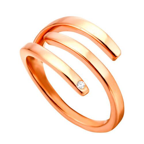 ESPRIT zilveren ring roségoud - ESRG001616-17 kopen