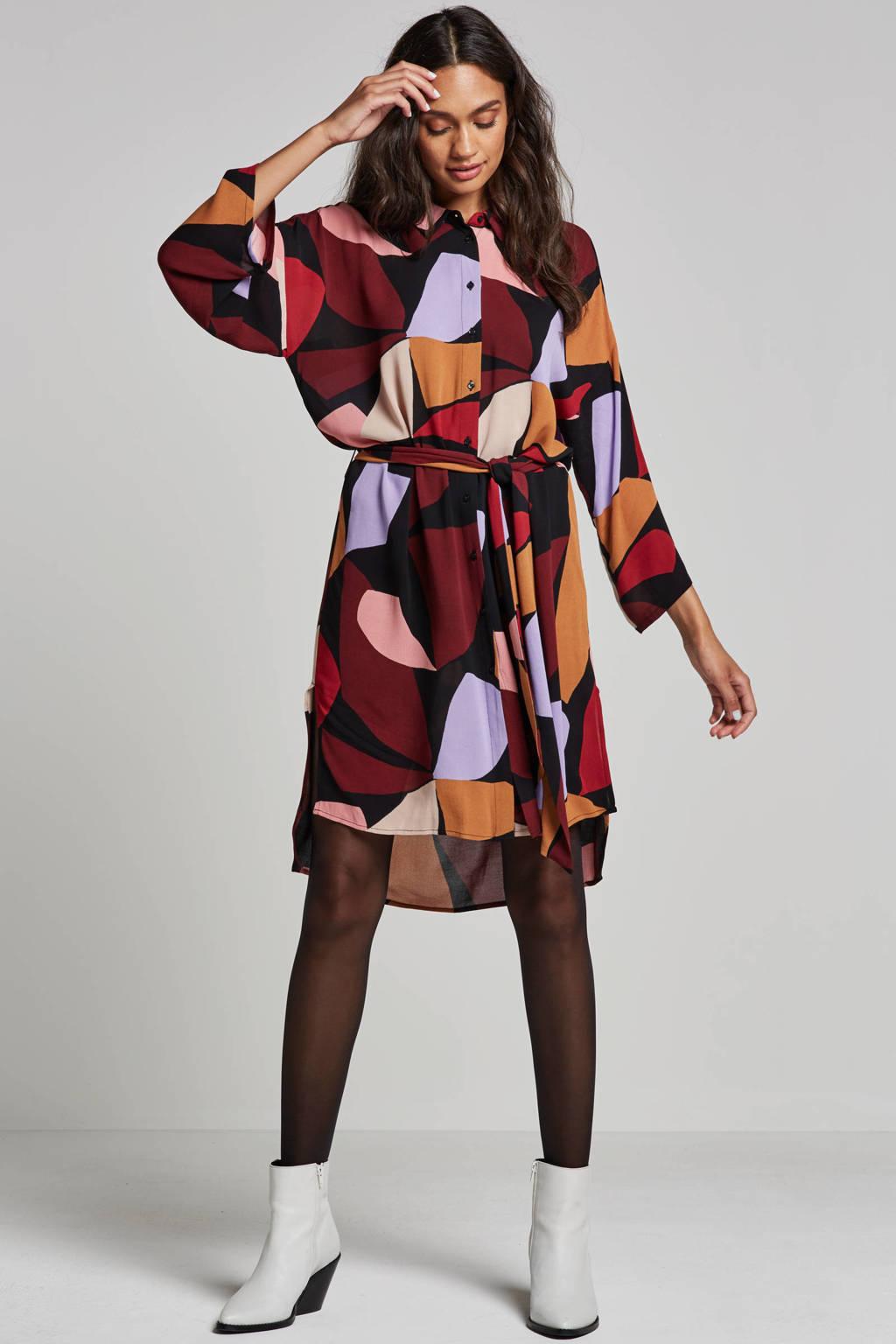 Inwear Vexi jurk, Bordeaux rood