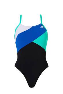 performance infinitex sportbadpak met kleurvlakken