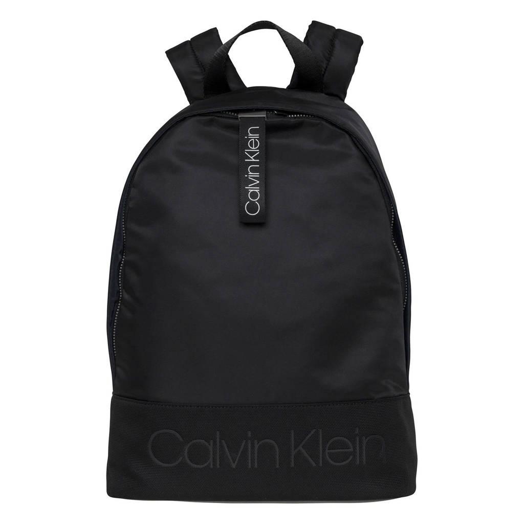 Calvin Klein  rugzak Shadow Round, Zwart