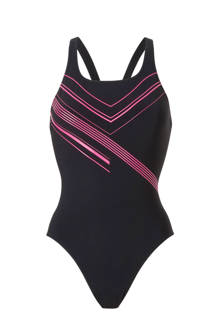 performance adidas performance infinitex sportbadpak met printopdruk zwart/roze