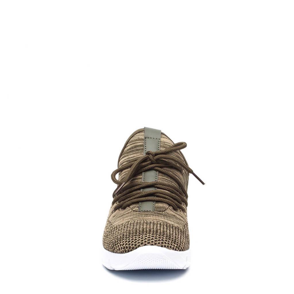 Scapino Blue Box sneakers, Kaki