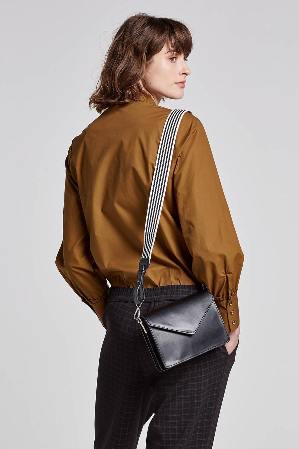 Minimum Aleksandra blouse, Bruin