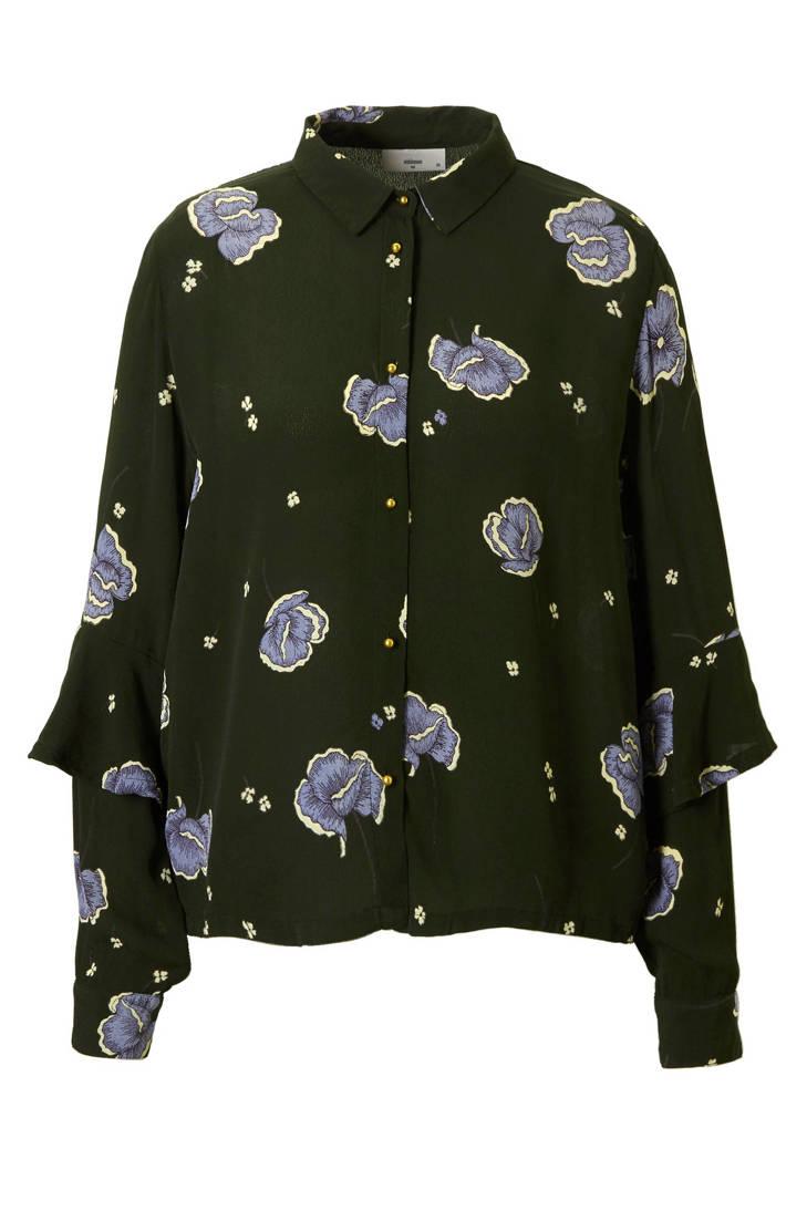 blouse blouse bloemenprint Minimum met Mariolla Minimum Mariolla 4fdwCqxf
