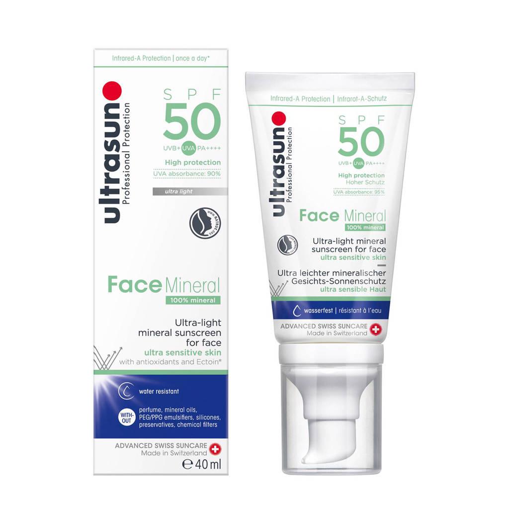 Ultrasun Face Mineral SPF50 - 40ml