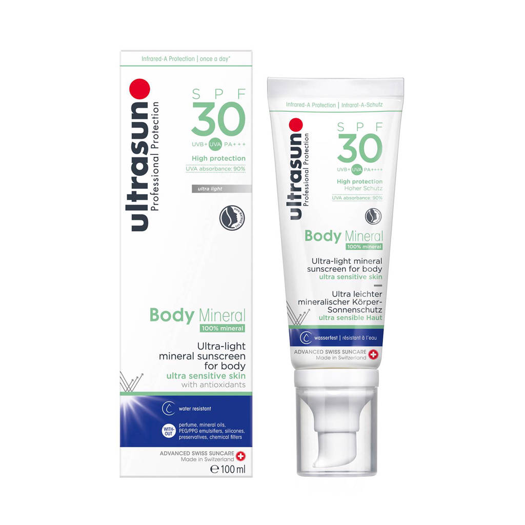 Ultrasun Body Mineral SPF30 - 100ml