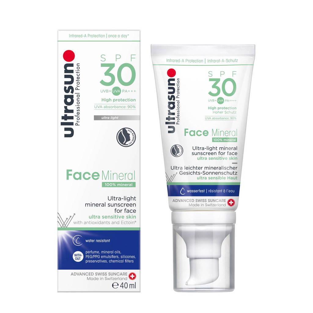 Ultrasun Face Mineral SPF30 - 40ml