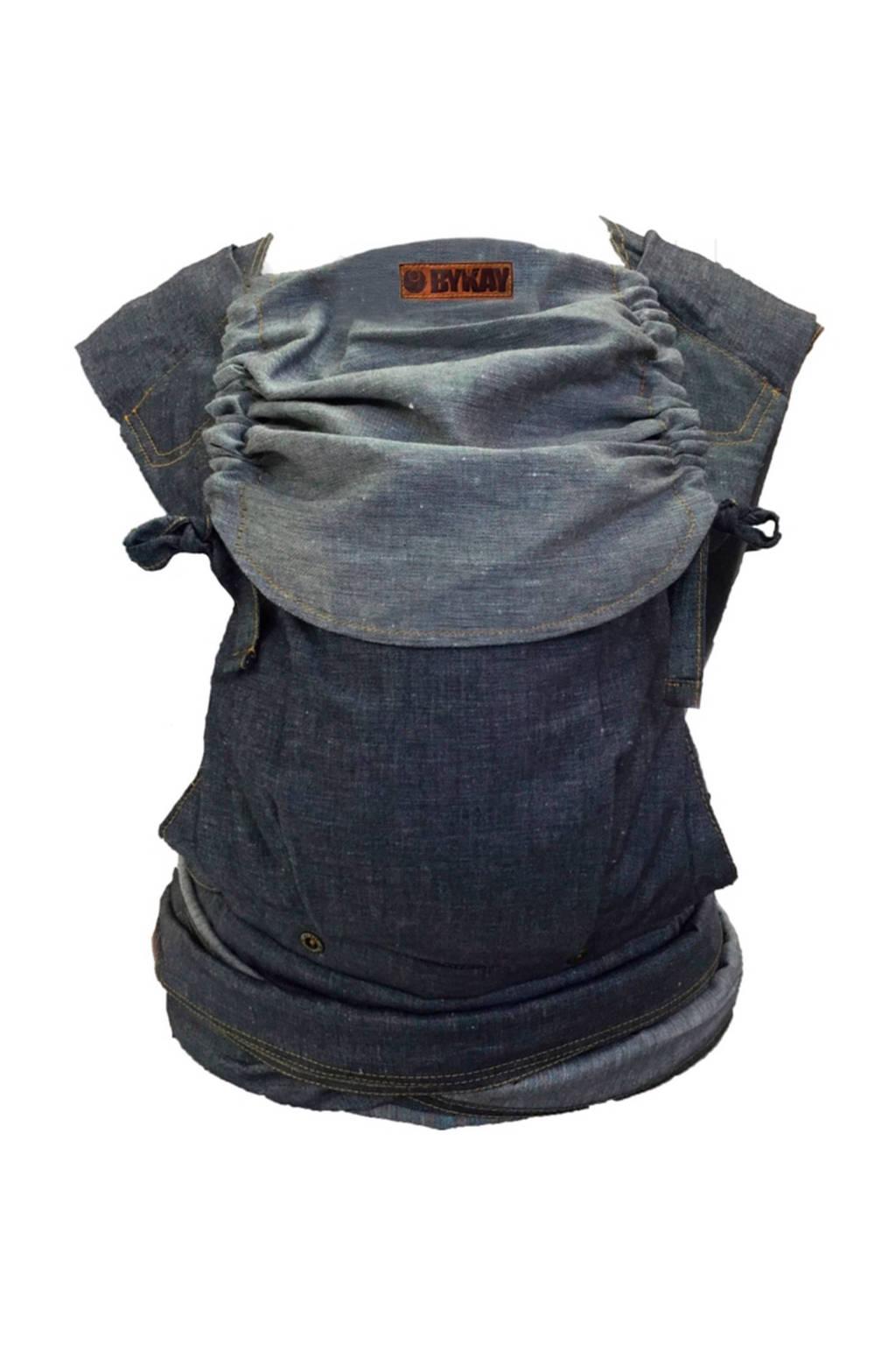ByKay Mei Tai Deluxe draagdoek dark jeans, Dark Jeans
