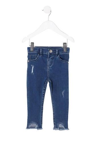 jeans Amelie met onafgewerkte zomen