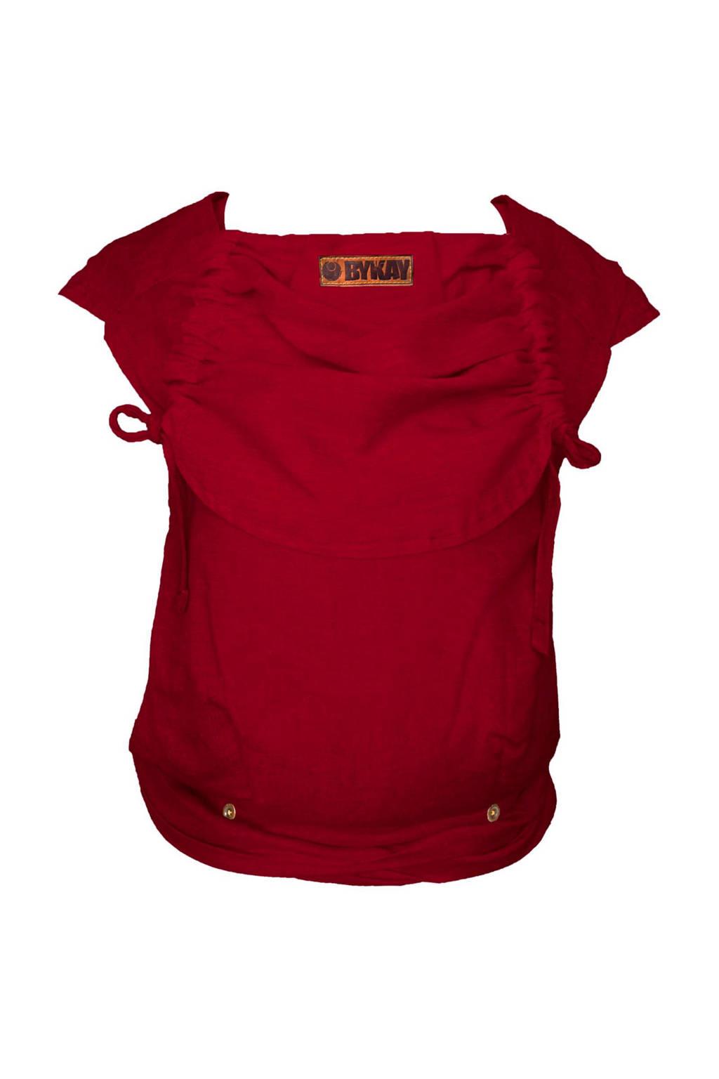 ByKay draagdoek Mei Tai Deluxe 50075 rood, Berry Red