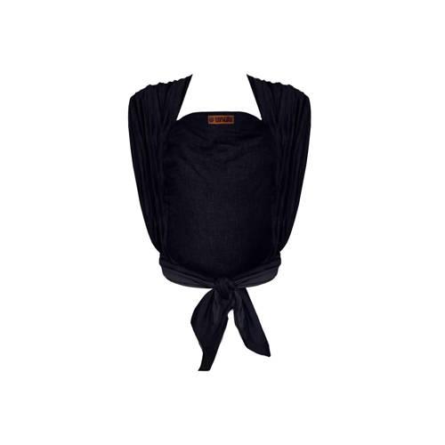 ByKay draagdoek Woven Wrap Deluxe 60046 zwart denim kopen