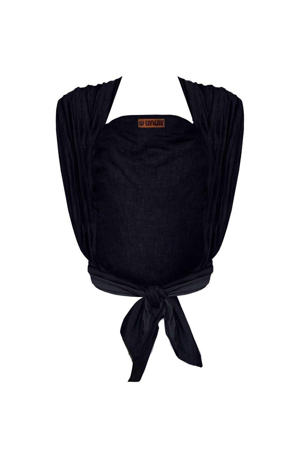 ByKay draagdoek Woven Wrap Deluxe 60046 zwart denim, Black denim